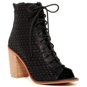 Rebels Yano Lace-Up Woven Bootie